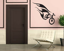 Wall Stickers Vinyl Decal Mural Extreme Sport Bike Bicycle  z317