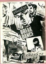 MUSIK Kamikaze - PUNK, NEW-WAVE, REGGAE Fanzine 80ziger