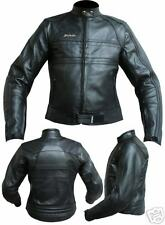 Giacca Moto in Pelle Donna JF-Pelle Black mod.3159