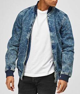 Men's Denim Jacket Casual Wear Blue Jean Jacket For Men Trendy Summer Wear M-2XL