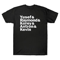 When They See Us Yusef Raymond Korey Antron & Kevin Men's T Shirt Cotton Tee