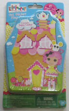 Lalaloopsy Gel Sticker Play Set Collector's Set 2 NIP Stocking stuffer toy
