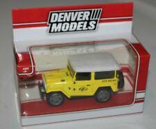 1/43 1:43 Toyota FJ40 Land Cruiser Diecast Model. Yellow  Denver Models NEW