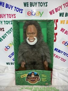VINTAGE NEW IN BOX 1991 Galoob Harry and the Hendersons Plush Doll