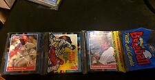 ROBERTO ALOMAR Rookie Card Showing ON TOP of 1988 Donruss Baseball RACK PACK