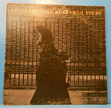 Neil Young After The Gold Rush Lp 1970 Original Poster Plays Great! Vg+/Vg+!D