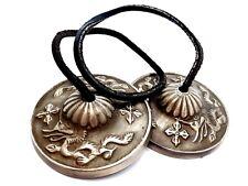 Tingsha Bells Dragon Dorje 65mm Real Bronze Cymbals Buddhist Chime Quality Bells