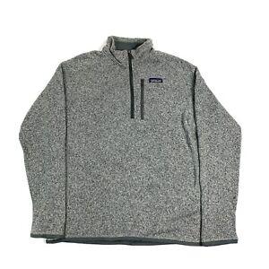 Patagonia Better Sweater 1/4 Zip Fleece Jacket. Men's M