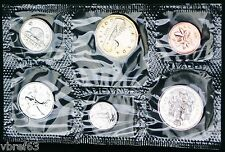 1988 Canada Prooflike PL set 6 perfect coins in org packaging and certificate