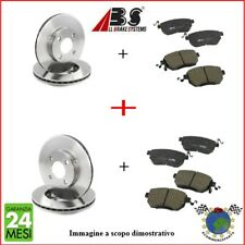 Kit Dischi e Pastiglie freno Ant e Post Abs BMW 5 E61 525 523 520 5 E60