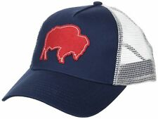 dc1bf019104 Mountain Khakis Bison Patch Trucker Cap Twilight One Size