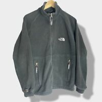 Vintage - The North Face Polartec - Black Zip Up Fleece - Mens Size Small S