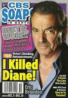 CBS Soaps In Depth Magazine December 19 2011 Eric Braeden Best & Worst of 2011