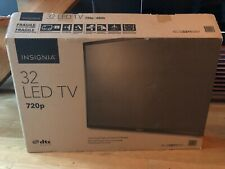 INSIGNIA 32 inch LED TV 720P DTS Sound 2 HDMI Open Box Untouched IN SHIPPER