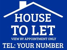 House To Let Sign Boards x2