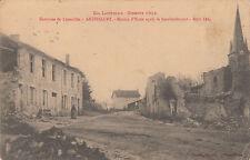 ANTHELUPT MOSELLE GUERRE 14-18 WW1 maison d'école après bombardement éd bastien