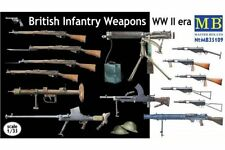 MasterBox MB35109 1/35 British Infantry Weapons WW II era
