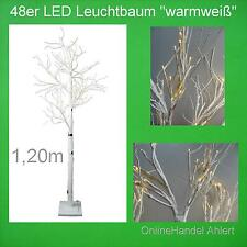 LED Baum Weihnachtsbaum 120cm Innen Weihnachten Leuchtbaum Christbaum warmweiß