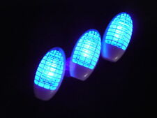 3 elektrische LED UV Steckdosen Insektenvernichter, Fliegenfalle, Insektenkiller