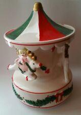 Neiman Marcus Carousel Merry Go Round Music Box Musical Christmas Japan