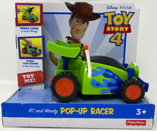 Fisher-Price Disney Pixar Toy Story 4 RC and Woody Pop-Up Racer
