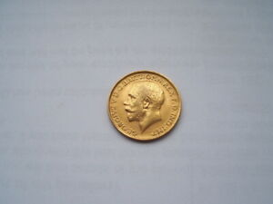1912 GOLD SOVEREIGN