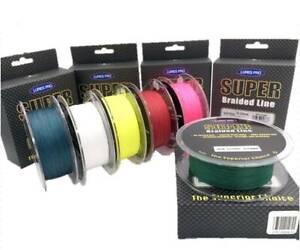 547 Yard Fishing braided Spectra Fishing Line 10 20 25 30 40 50 65 80
