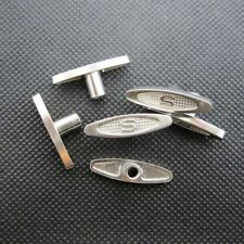 """10Pcs 8mm 0.35"""" Metal Winder T-Bar Replacement Keys for Windup Jewelry Music Box"""
