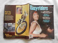 EASYRIDERS MAGAZINE-ENTERTAINMENT FOR ADULT BIKERS-DECEMBER,1980