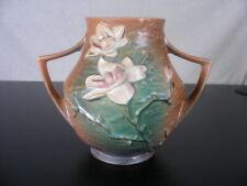 """Roseville Art Pottery Vintage Original Magnolia #91-8"""" Large vase"""