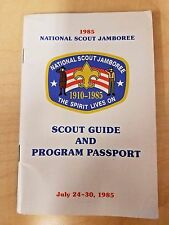 1985 National Scout Jamboree Scout Guide and Program Passport July 24-30, 1985