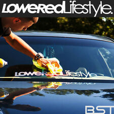 Car Sticker window decal Lowered lifestyle Hellaflush JDM Racing sport 60x8.5cm