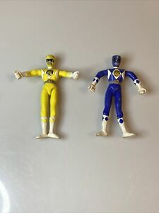 LOT OF 2 Mighty Morphin Power Rangers Bendable Figures Tommy Toy 1993