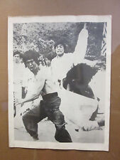 Vintage Bruce Lee original black and white SMALL poster 9990