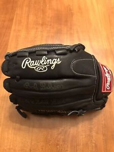 CARDINALS BOB GIBSON 9X Gold Glove Rawlings Signed Baseball Glove PSA COA