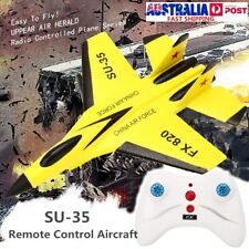 SU-35 RC Remote Control Helicopter Plane Glider Airplane EPP Foam 3.5CH Toys AU