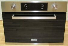 BAUMATIC ELECTRIC COMBINATION FAN OVEN MICROWAVE GRILL STAINLESS BUILT IN COMBI