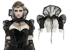 Gothic Victorian women Aristocrat short jacket,Punk Rave,Regency,hight collar