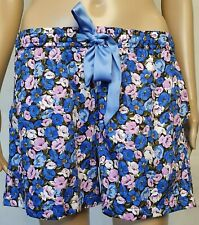 PETER ALEXANDER PJS Womens Floral Drawstring Shorts XS/S/M/L/XL BNWT Cotton Pyja