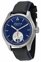 Alpina Men's Quartz Caliber Date Calendar Blue Dial 44mm Watch AL-280NS4S6