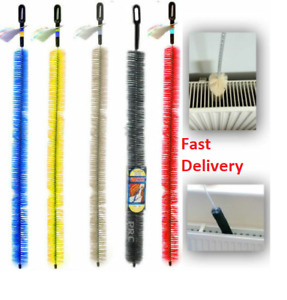 70CM Long Reach Radiator Flexible Brush Heater Heating Cleaning Dust Cleaner