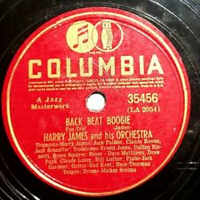 Harry James Orch.: Back Beat Boogie / Night Special: Columbia 1940 (Jazz)