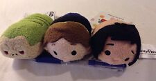 Lot Of 3! Disney Tsum Tsum Star Wars Han Solo Jabba The Hutt& Mowgli Jungle Book