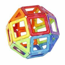 50Pcs magnético de construcción bloques de juguetes educativos región Cuadrado + Triángulo Hazlo tú mismo