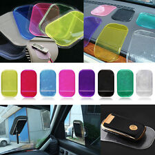 Coche Dashboard Soporte Antideslizante Sticky Pad Mat Para Teléfono Móvil llaves