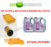 DIESEL OIL AIR FILTER KIT + FS 5W30 OIL FOR JAGUAR S-TYPE 2.7 207 BHP 2004-08
