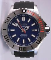 BARBOS MARINE BLUE AUTOMATIC PROFESSIONAL  1650ft/500m MENS DIVER WATCH NEW