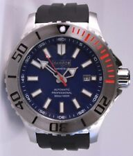 BARBOS MARINE BLUE AUTOMATIC 3300ft/1000m MENS DIVER WATCH