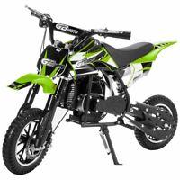 49cc Motorized 2-Stroke Gas Mini Dirt Bike Pocket Bike Pit Scooter Bike Green