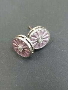 Fine Enamels By Nicole Barr Sterling Silver Earrings  RRP £69